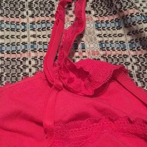 aerie Intimates & Sleepwear - Hot Pink Lace Bralette